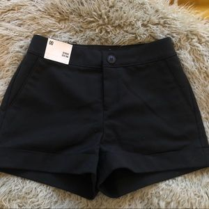 Express Mid Rise Shortie NWT